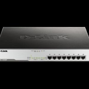 8‑Port Desktop Gigabit Max PoE Switch DGS‑1008MP
