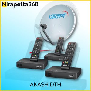 Akash DTH Full Setup (Combo 03) Best Price in Bangladesh