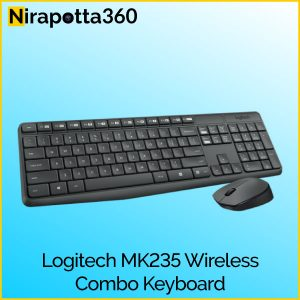 LOGITECH MK235 WIRELESS KEYBOARD AND MOUSE Price In Bangladesh