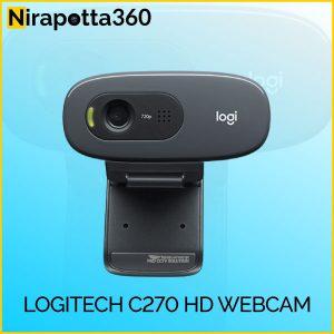 Logitech C270 HD WEBCAM Price In Bangladesh